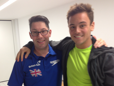 Tom Daley and Dean Cook